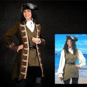 Mary Read Pirate Vest